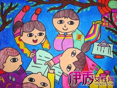 图】天真烂漫的儿童画特点 如何指导儿童能进行人物创作-儿童画 人物