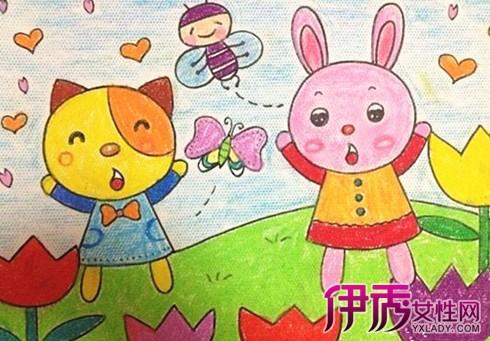 幼儿园大班绘画作品