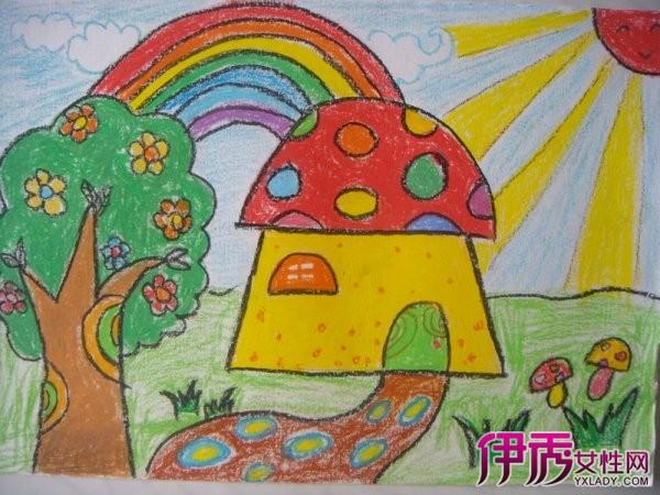 图】欣赏美丽的秋天儿童画 进入孩子的画画世界-美丽的秋天儿童画