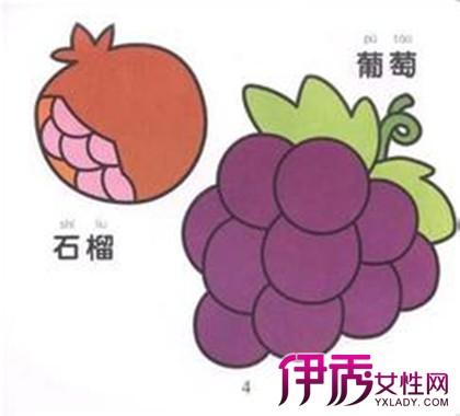 儿童水果绘画图片大全