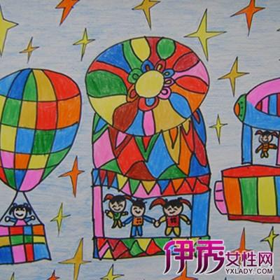 幼儿园绘画作品