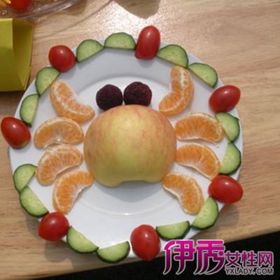 创意水果拼盘及做法