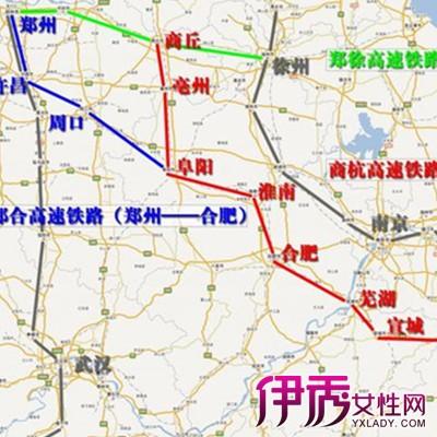 郑州到徐州高铁的地图大全 郑州到徐州高铁的实施进程